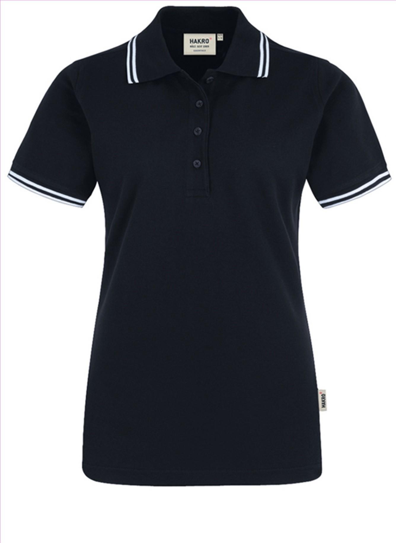 HAKRO Poloshirt Twin-Stripe Damen