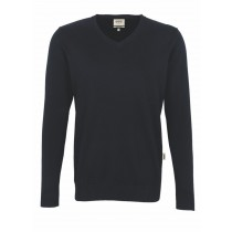 HAKRO Herren V-Pullover Premium Cotton