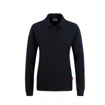 Damen-Longsleeve-Poloshirt