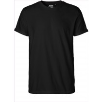 L Herren Roll Up Sleeve T-Shirt Neutral