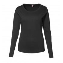 Damen Interlock Langarm T-Shirt