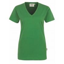 HAKRO Damen-T-Shirt mit V-Ausschnitt