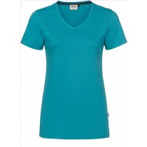 HAKRO V-Shirt Cotton-Tec Damen