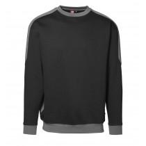 Unisex-Sweatshirt mit Kontrast