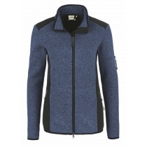 HAKRO Damen Strick-Fleecejacke