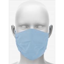 Maske_hellblau_front