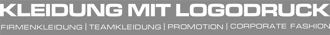 Kleidung mit eigenem Logodruck