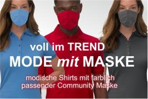 Mode mit Maske