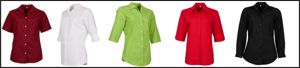 Arbeitsbluse bordeaux weiss apfelgrün rot schwarz online bestellen online shop hersteller workline