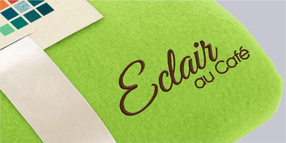 Fleecedecken mit eigenem Logo