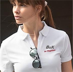 Poloshirt Damen mit Logo