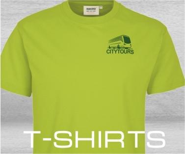 T-Shirts mit Firmenlogo