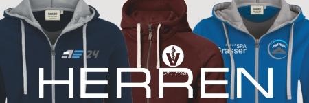 Hoodies Herren mit Logo