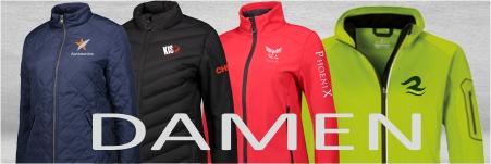 Jacken für Damen mit Logo