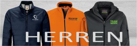 Jacken für Herren mit Logo