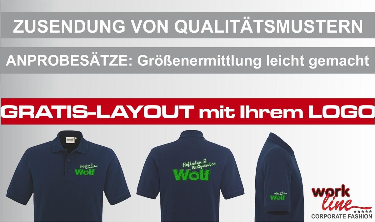 Poloshirts mit Logo Gratislayout