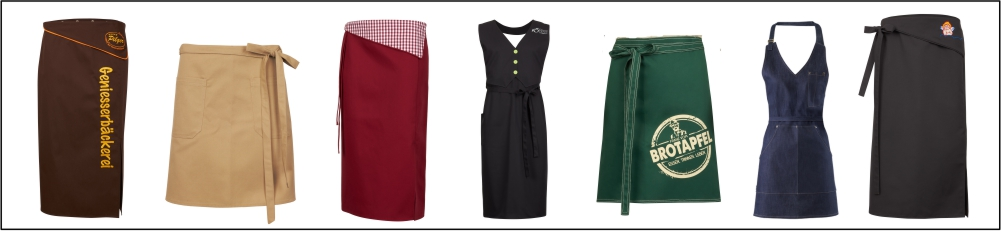 Arbeitsbekleidung Schürzen für Gastronomie und Service