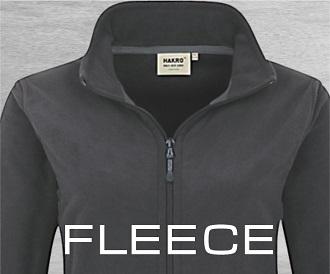 Fleecejacke Fleecepullover mit Logo für Spedition mit Logo