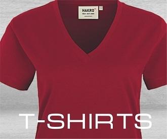 T-Shirts Lager und Logistik