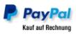 Berufsbekleidung Bezahlung Paypal auf Rechnung