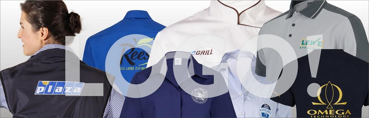 Berufsbekleidung mit Logo