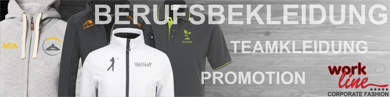 Berufsbekleidung Firmenkleidung Teamkleidung mit Logo