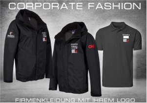 Corporate Fashion Firmenbekleidung mit Logo